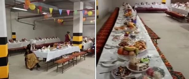 Вказахстанском Актау свадьбу провели напарковке