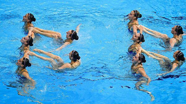 Еремеева: сборная России посинхронному плаванию проведет сбор вДубае