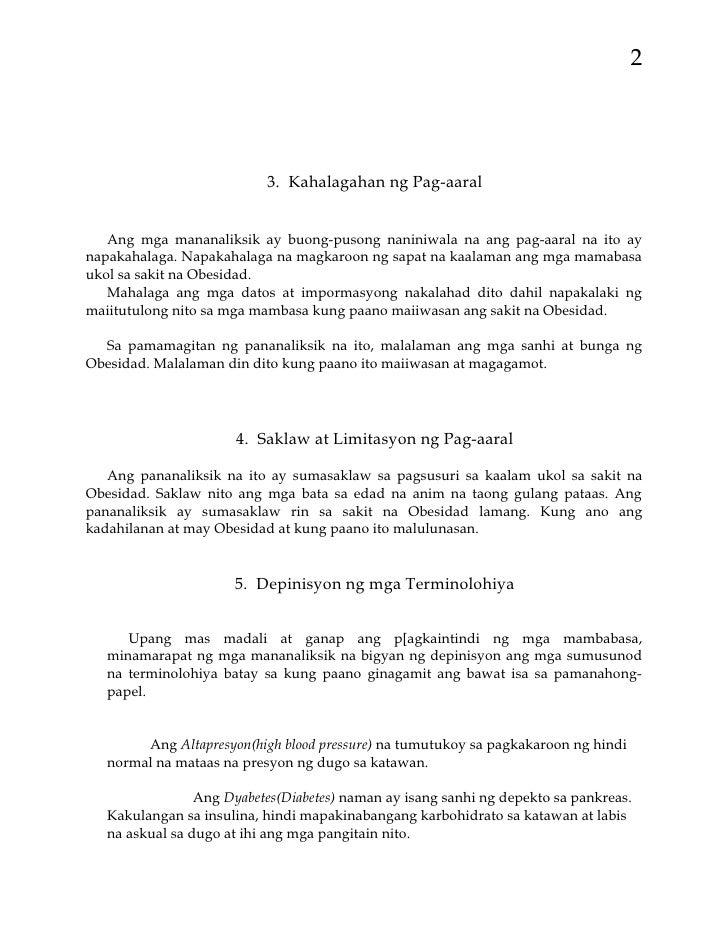 term paper samples tagalog
