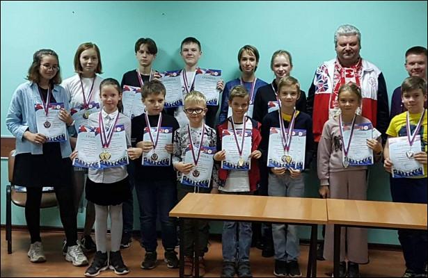 9золотых медалей завоевали шахматисты Вологды наобластном чемпионате