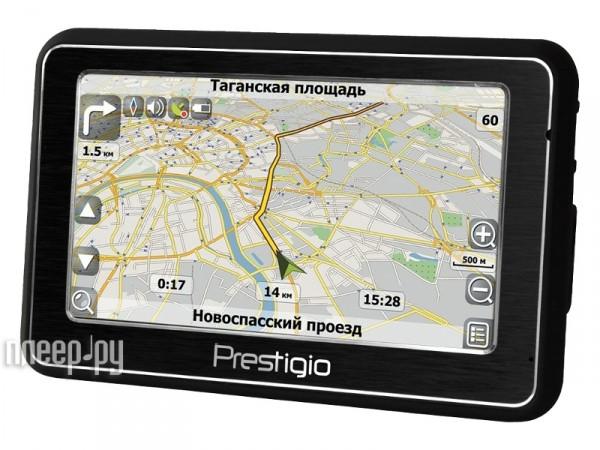 GPS навигатор Prestigio GeoVision 4500 Навител Навигатор.