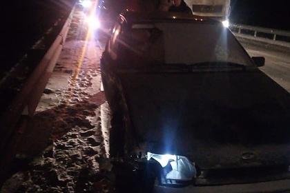 Выжившую вДТПроссиянку сразу жесбила другая машина