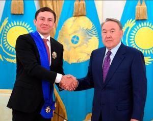 Геннадий Головкин награждён орденом президента Казахстана: фото ивидео дня