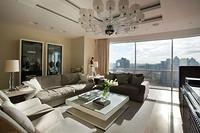 Респектабельный интерьер: панорамный вид, люксовая мебель ироскошные детали