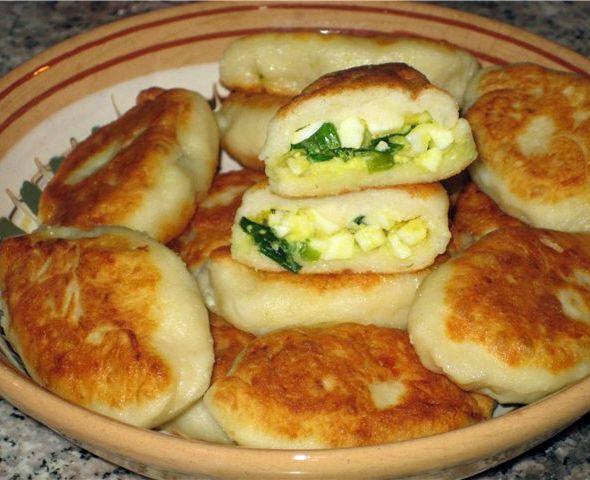 Рецепт быстрого пирога из жидкого теста с картошкой