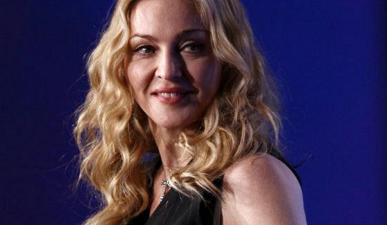 Редкий выход: Мадонна смолодым возлюбленным