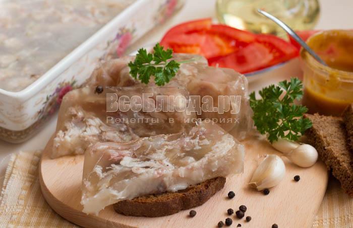 Холодец без желатина рецепт с фото пошагово