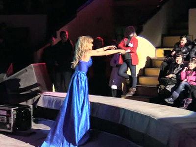 Российские артисты выступили вДонецке