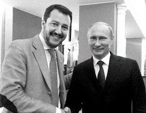 Итальянские «друзья Путина» оказались перед опасной развилкой