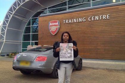 Мать футболиста лондонского «Арсенала» стала бомжом