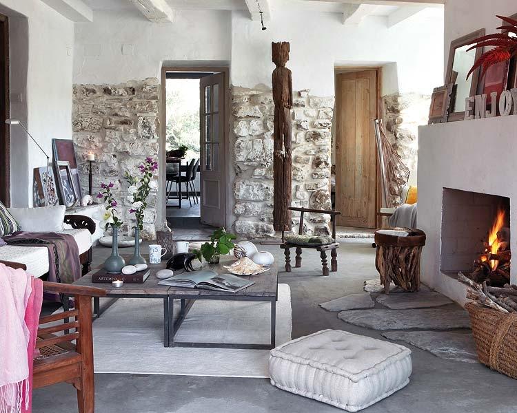 Интерьеры квартир в испании и италии