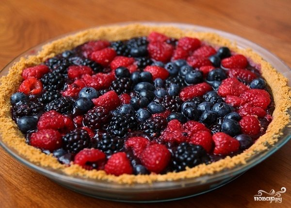 Пироги с ягодами рецепты с фото пошагово