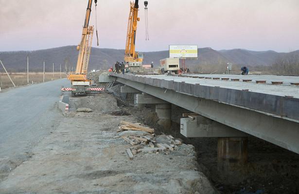 Новый мост появится вБольшом Камне раньше, чемждали