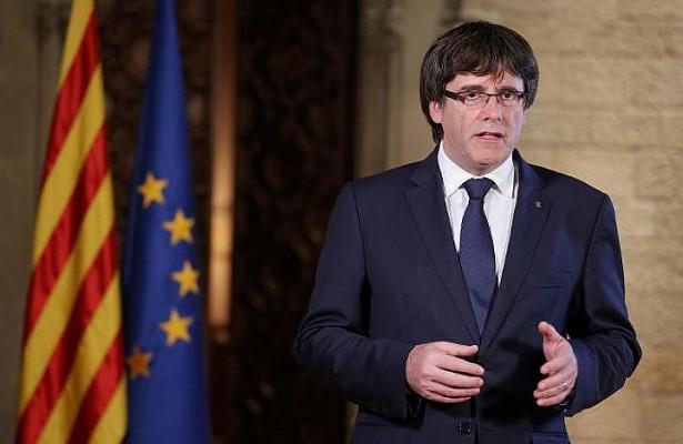 Экс-глава Каталонии Пучдемон сдался бельгийской полиции