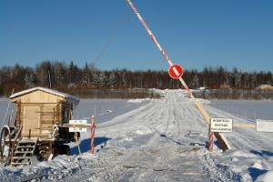 Омский Минстрой открыл тримоста наавтодороге, ведущей вТюменскую область