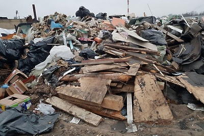 Незаконные свалки ликвидировали вПушкинском округе