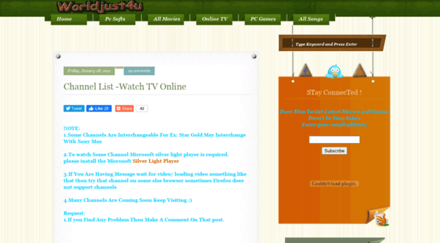 Indian Live Tv Channels - Free downloads and reviews