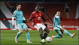 «Манчестер Юнайтед» выбил «Ливерпуль» изКубка Англии