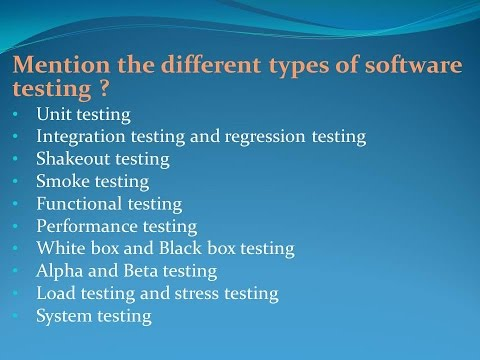 0+ Manual Testing Interview Questions (Software Testing