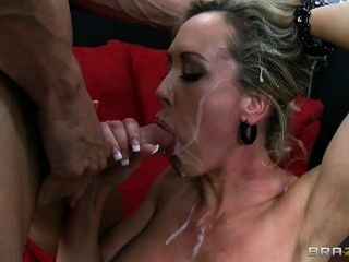Missy monroe with two black cocks