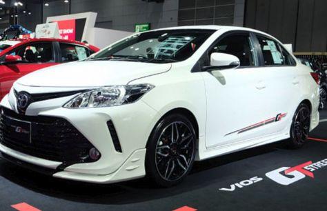 Toyota объявила старт продаж спецверсии седана Vios GTStreet