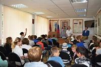 ВЗеленограде прошла экскурсия длядетей втерриториальный отдел полиции
