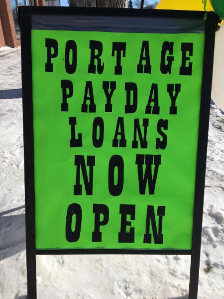 Portage payday loans