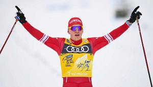 Большунов остался безмедали виндивидуальной гонке наЧМ