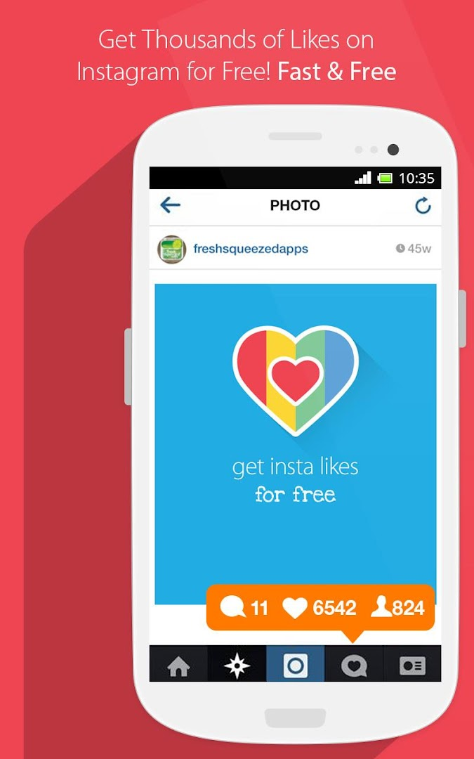 Get Free Automatic Likes On Your Instagram Posts