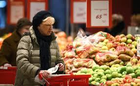 Инфляция вРоссии вторую неделю подряд сохраняется науровне 0,2%