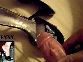Amateur slut takes two cocks