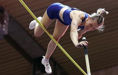 Прыгунья сшестом Сидорова стала чемпионкой России