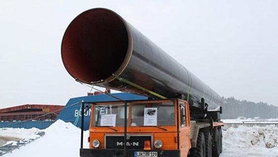 ЕКрасширила доступ «Газпрома» кгазопроводу вобход государства Украины