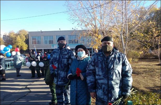 ВВолжском почтили память погибшего омоновца вЧечне