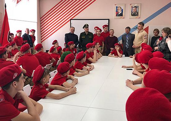 Юнармия Красноярского края пополнилась более 70школьниками