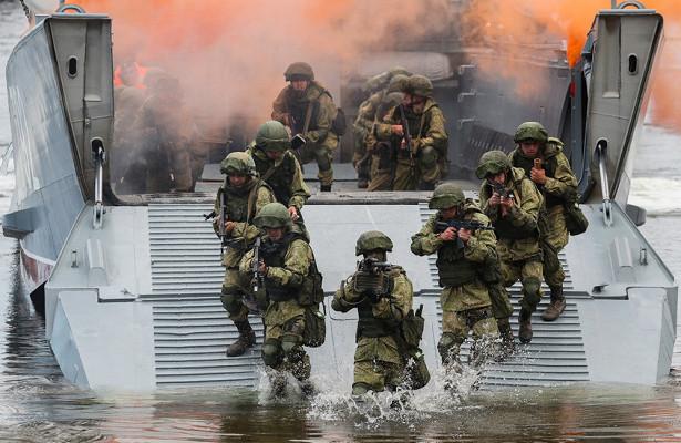 Первый полк морпехов былсформирован поуказу Петра I315летназад