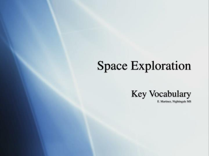 Space exploration essay - Receive an A+ Essay or
