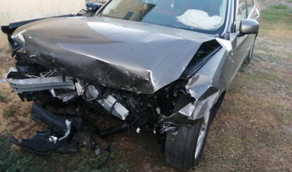 ВВоронежской области Nissan врезался вFord: обаводителя вбольнице