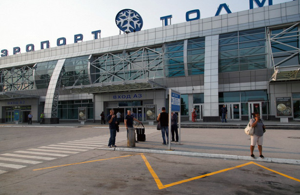 Приветствие накитайском языке появилось ваэропорту Новосибирска
