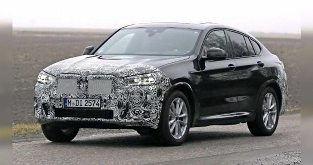 Обновлённый BMWX42022 года заметили вовремя испытаний