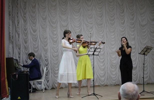 Впансионате «Коньково» состоялся концерт классической музыки