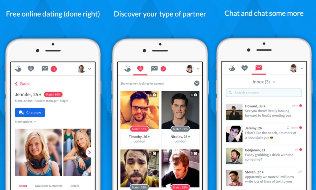 Gratis online dating app