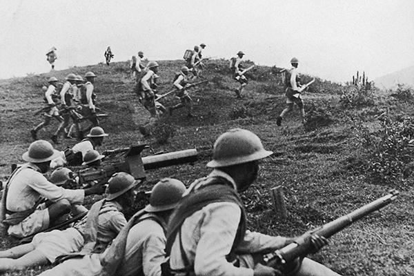 Каксоветские войска сокрушили «непобедимых» самураев