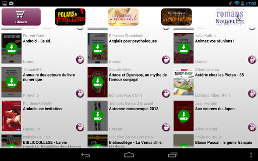 Ebook Reader for Android - Download