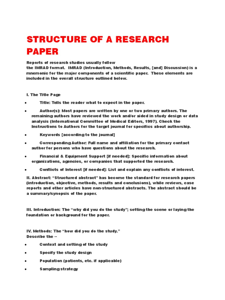 Data analysis paper sample