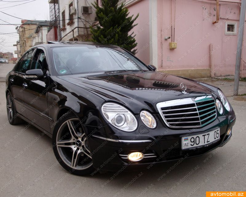 Mercedes e 220 2007 pictures free download for Mercedes benz e 220