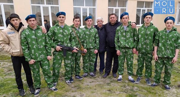 ВКизляре состоялась военно-спортивная игра «Победа»