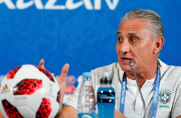Бразилия объявила стартовый состав наигру сБельгией