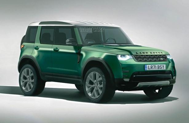 Land Rover выпустит доступный внедорожник в2022 году