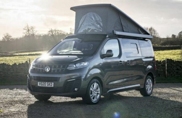 Кемпер Vauxhall Vivaro Elite Campervan за4,6млнрублей оснащен солнечной панелью ираскладными кроватями